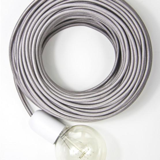 Серебряный текстильный провод 5 метров